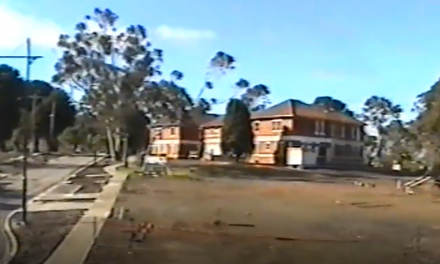 A glimpse of the transitional stage of the Mont Park Hospital to the Springthorpe Housing Estate in 2004.